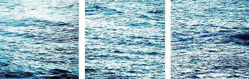 ATLANTIK   II  -  Triptychon 06|01   06|02   07|08