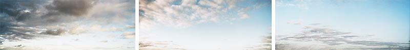 Sky + Seascapes - sky Tripychon