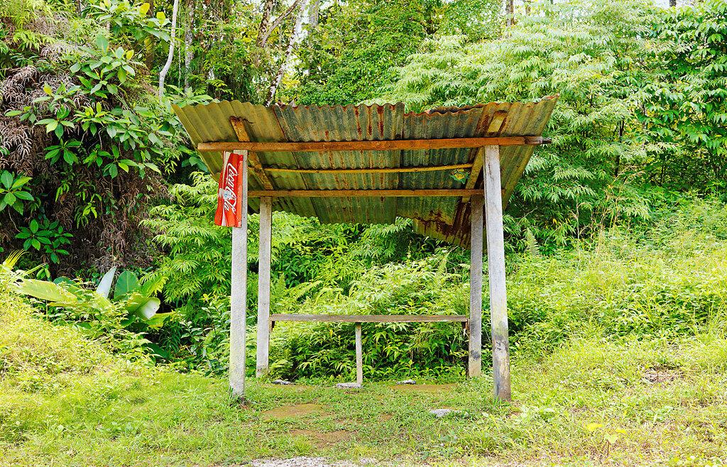 Bushaltestelle Costa Rica