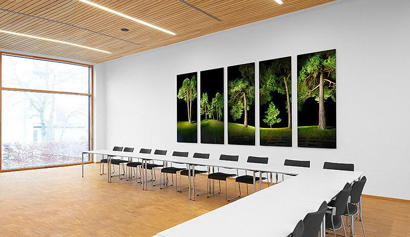 Kunst im Unternehmen - realisiert für den großen Besprechungsraum der BAYERISCHEN STAATSFORSTEN in Regensburg